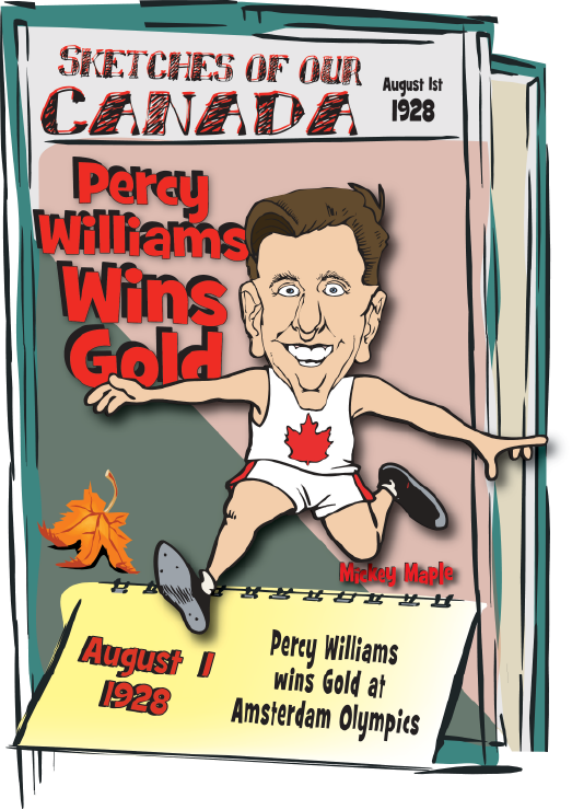 Canadian History for Kids - Percy Williams