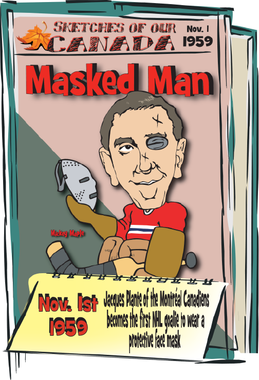 Canadian History for Kids: Jacques Plante