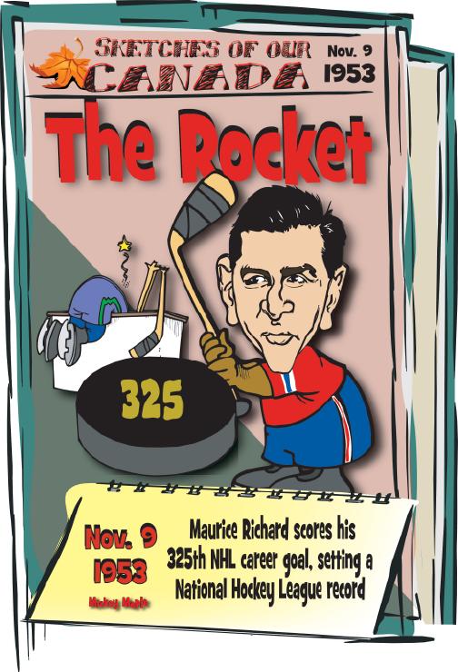 Canadian History for Kids: Rocket Richard