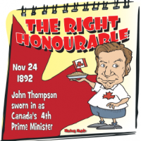 Canadian History for Kids: John Thompson