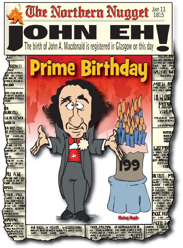 Canadian History for Kids: John A. Macdonald