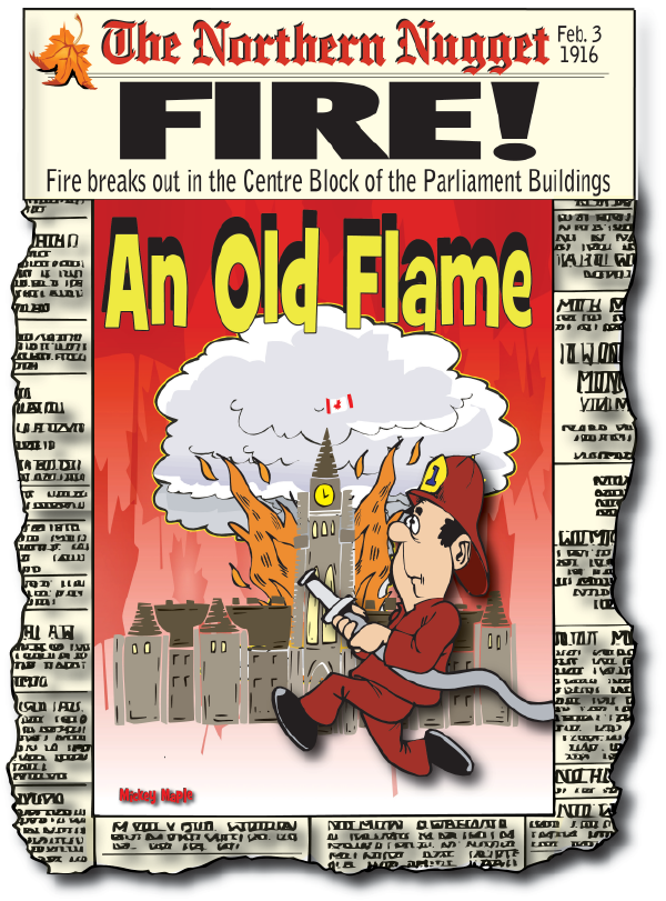 Canadian History for Kids: Parliament Fire