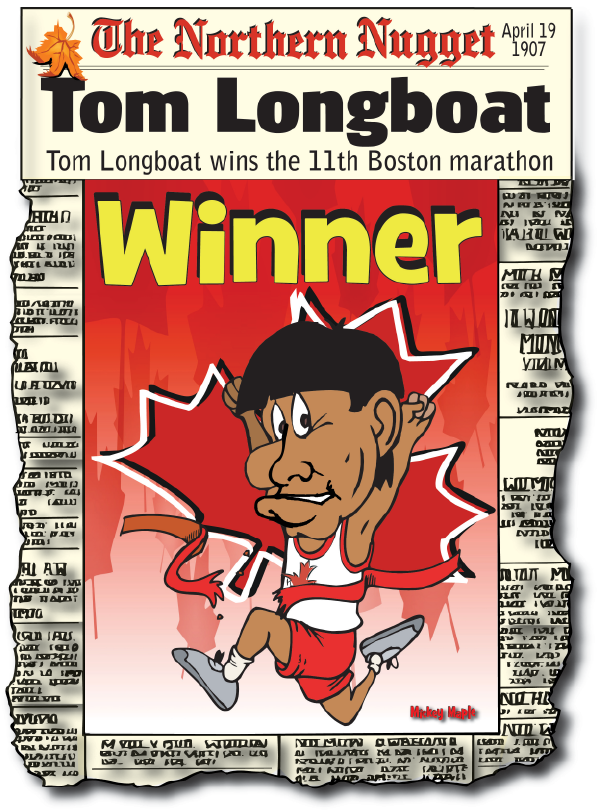 Canadian History for Kids: Tom Longboat
