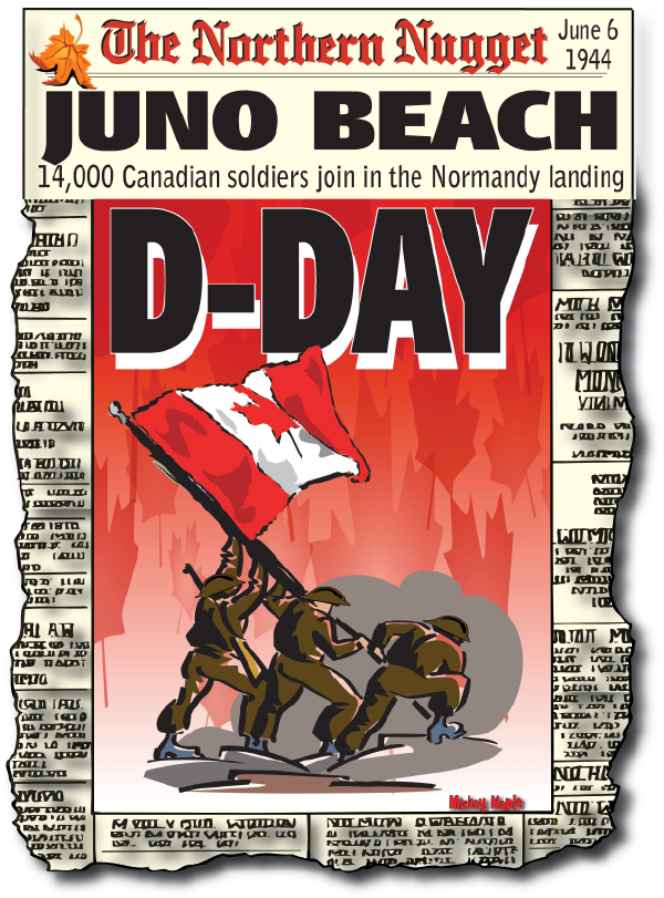 Canadian History for Kids: D-Day