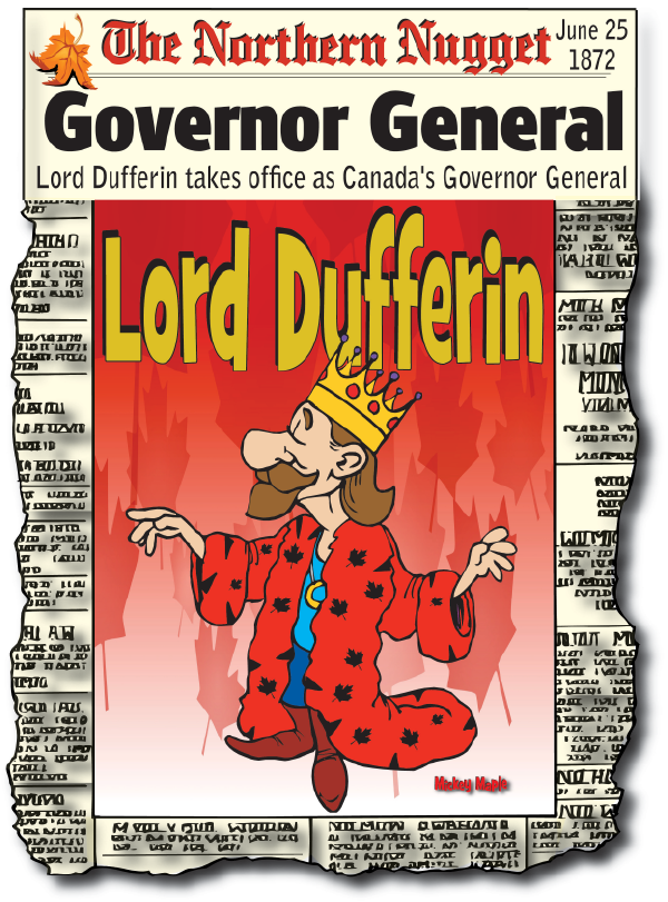 Canadian History for Kids: Lord Dufferin
