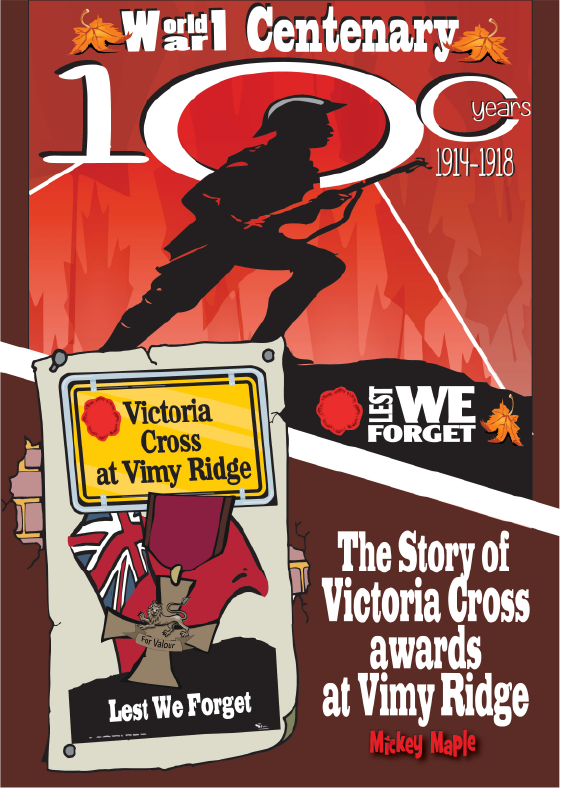 Canadian History for Kids: Victoria Cross at Vimy Ridge