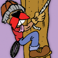 Chipper the Lumberjack from the Northwest Territories