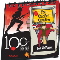 Canadian History for Kids: Crucified Canadian Soldier